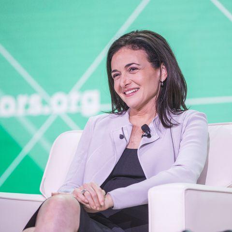 Facebook's Sheryl Sandberg Addresses The U.S. Conference Of Mayors In Boston