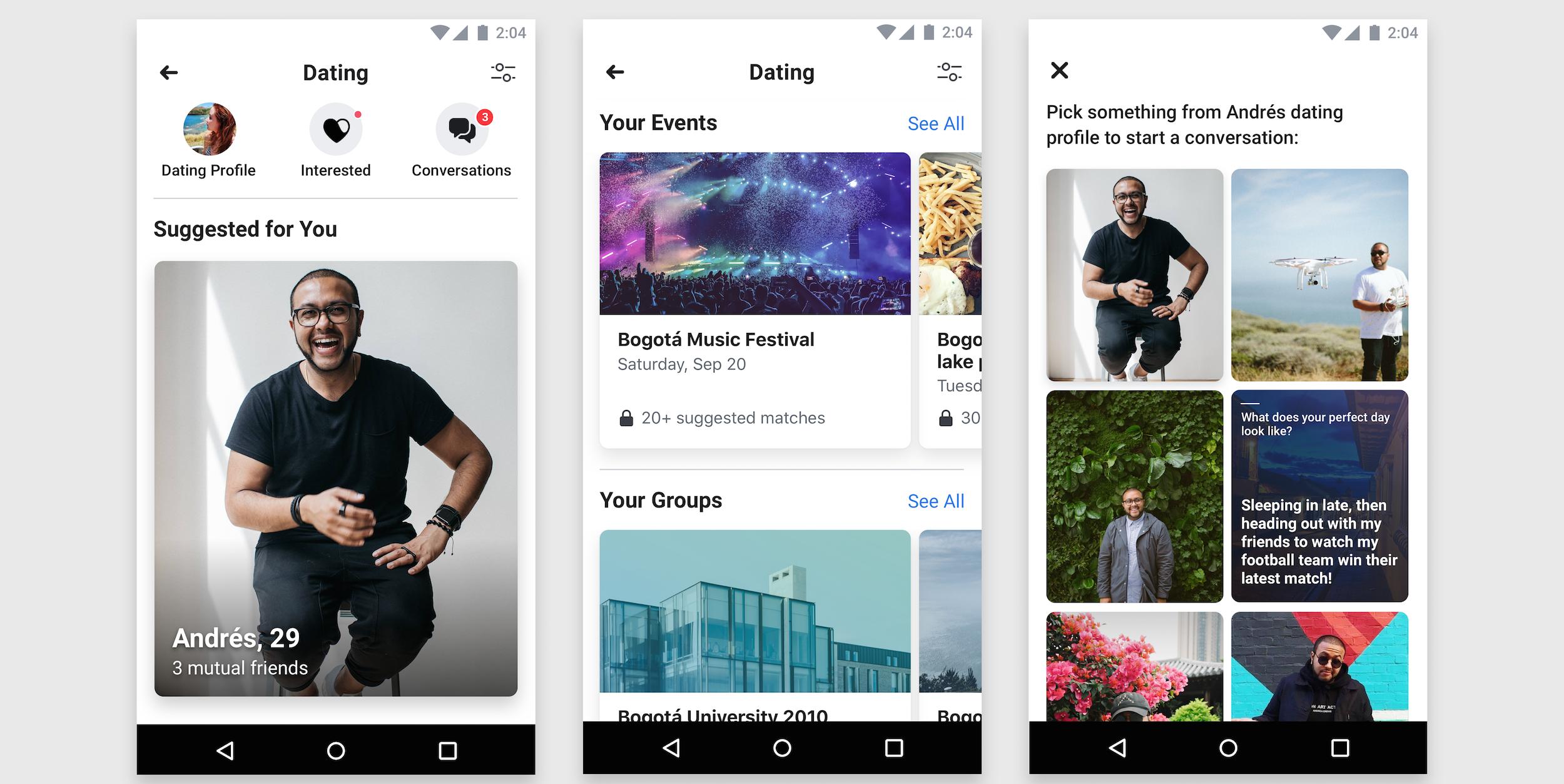 Facebook online dating app in Melbourne
