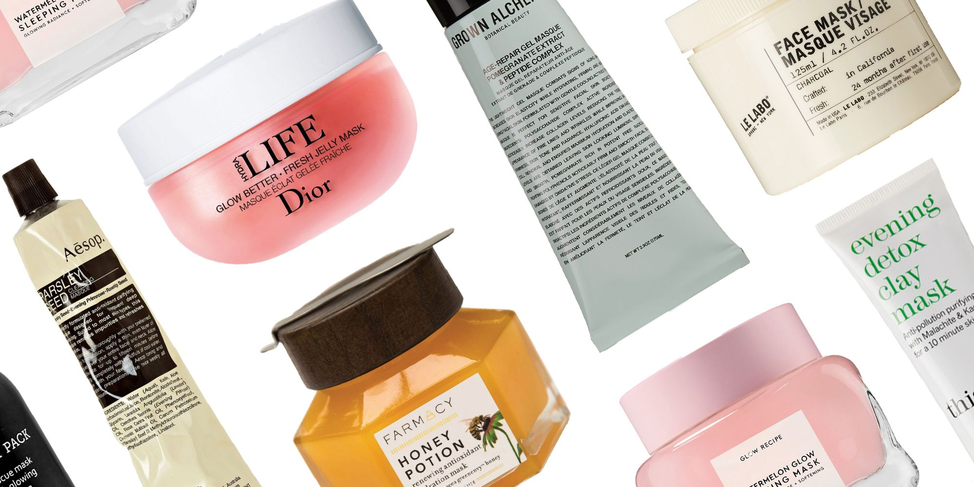 Best Face Masks 2019 - 16 Home Face Mask Treatments for All