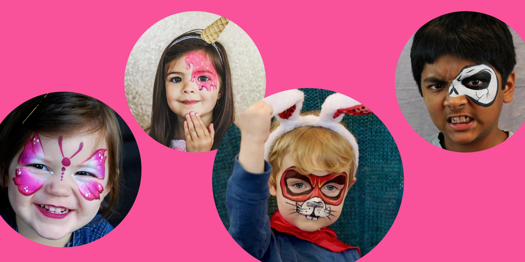 20 Easy Halloween Face Paint Ideas , Halloween Makeup Ideas