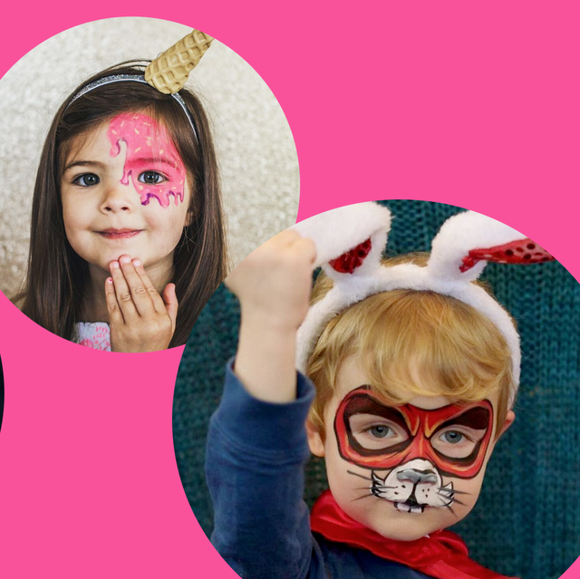 Halloween Makeup Ideas For Kids.20 Easy Halloween Face Paint Ideas Halloween Makeup Ideas