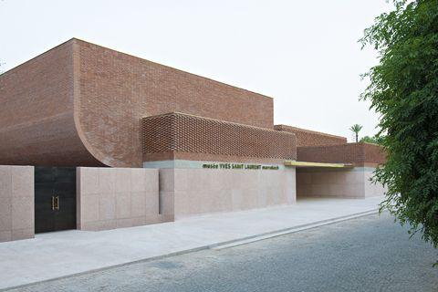 Museo de YSL en Marrakech