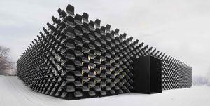 Fachadas construidas con elementos reciclados
