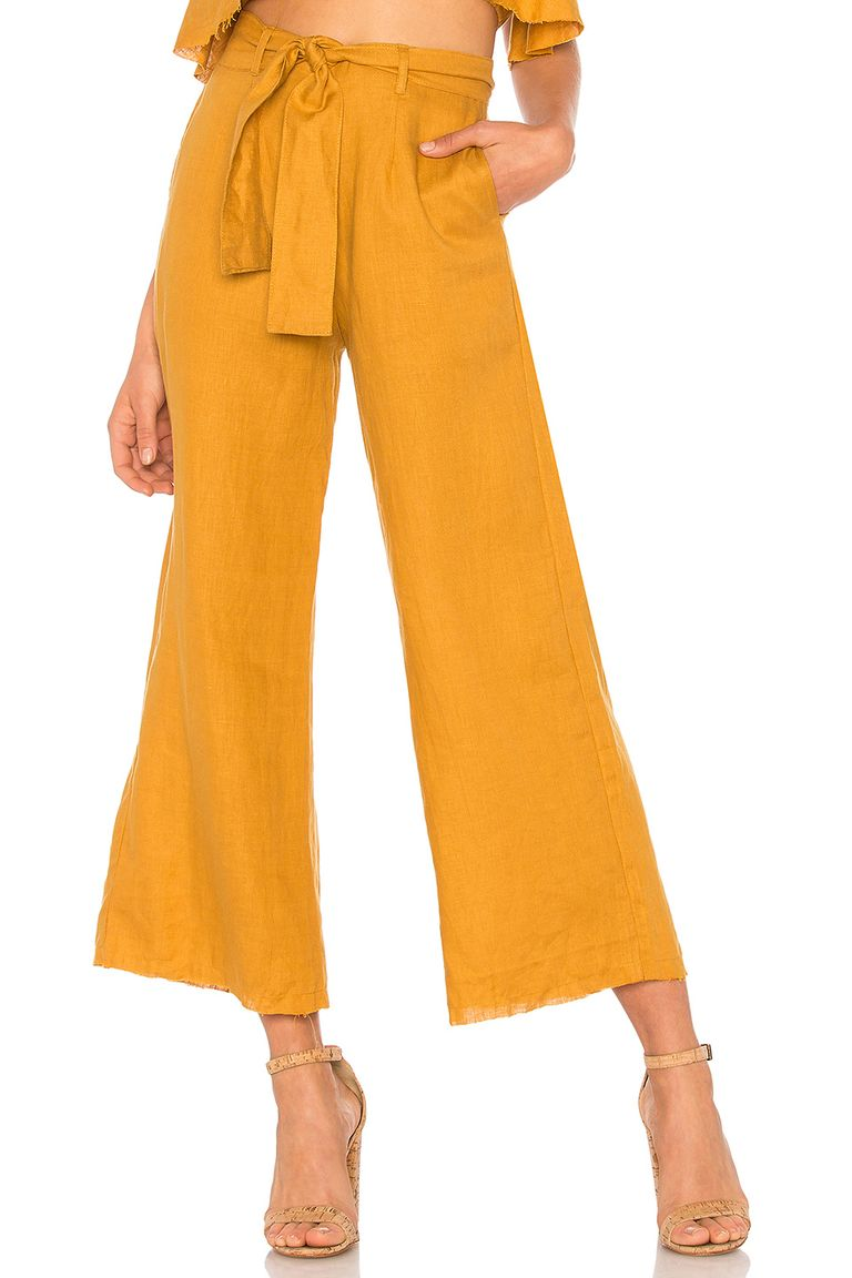 Ways to mix and match colors in your outfit how to mix colors marigold culottes nvjuhfo Image collections