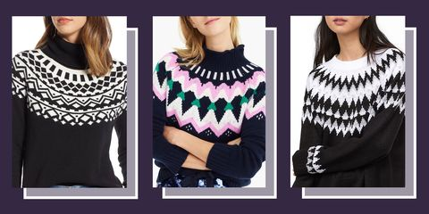 11 best fair isle sweaters for winter 2018 fair isle knit sweaters