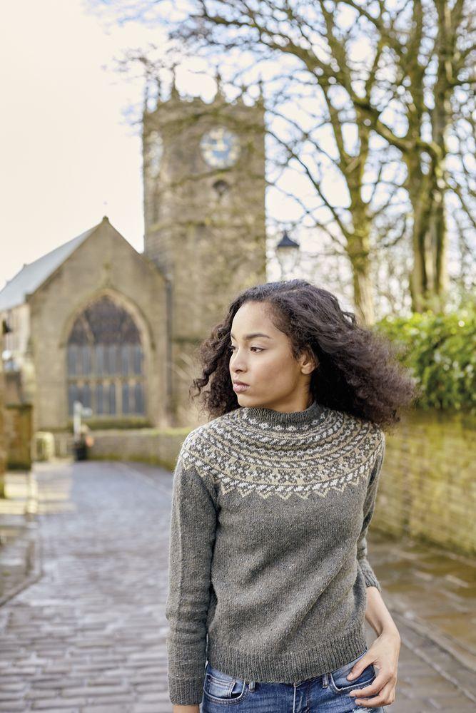 Get your free Fair Isle jumper knitting pattern