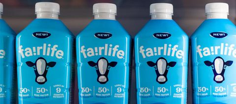 Product, Plastic bottle, Milk, Drink, Water, Dairy cow, Dairy, Dairy, Bovine, Bottle,