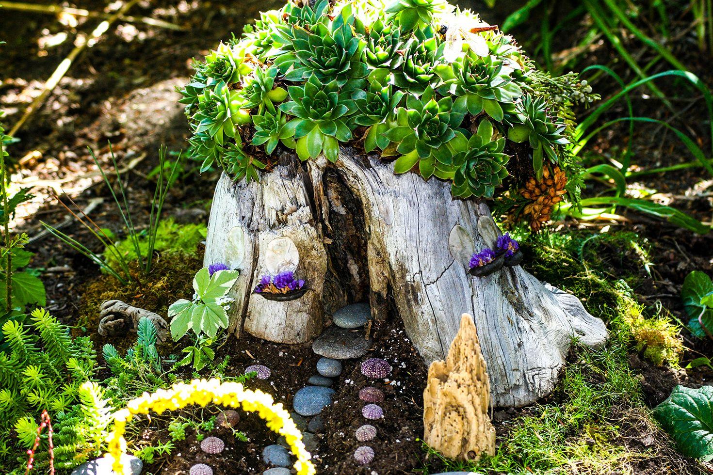 19 DIY Fairy Garden Ideas , How to Make a Miniature Fairy Garden
