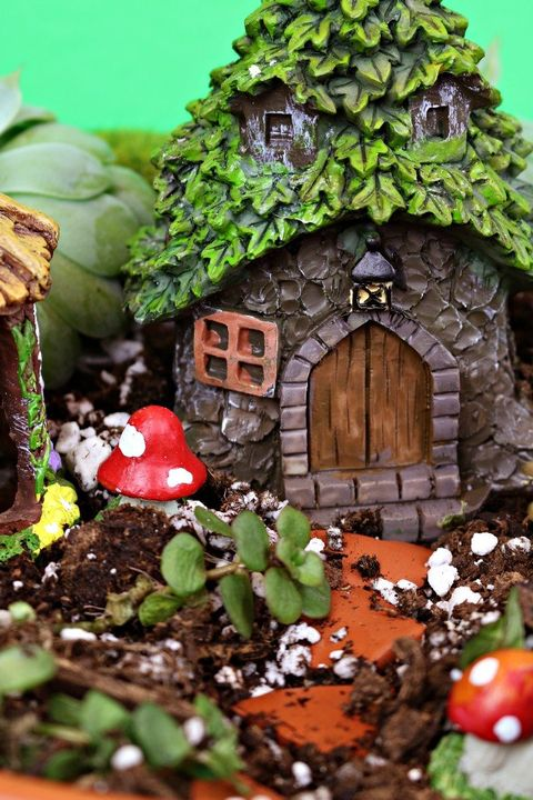 fairy garden ideas dollar store