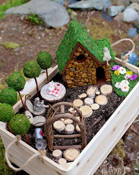 25 Diy Fairy Garden Ideas How To Make, How To Make Miniature Outdoor Furniture