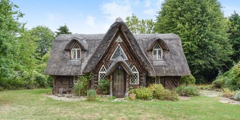 Picturesque Hansel And Gretel Style Thatched Cottage For