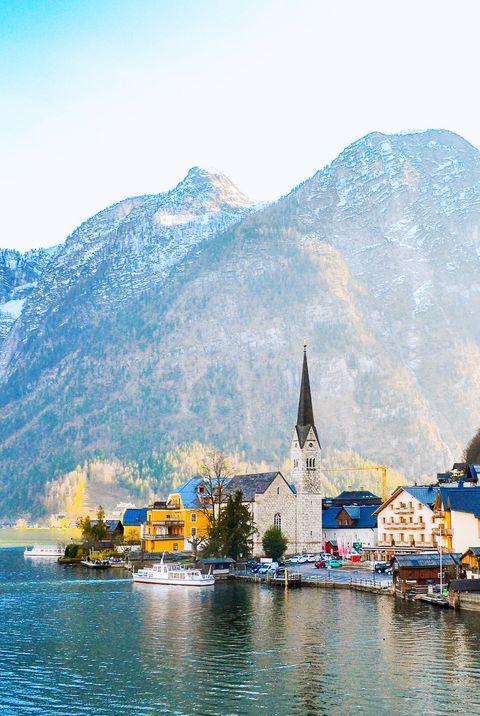 Fairytale Town of Hallstatt, Austria