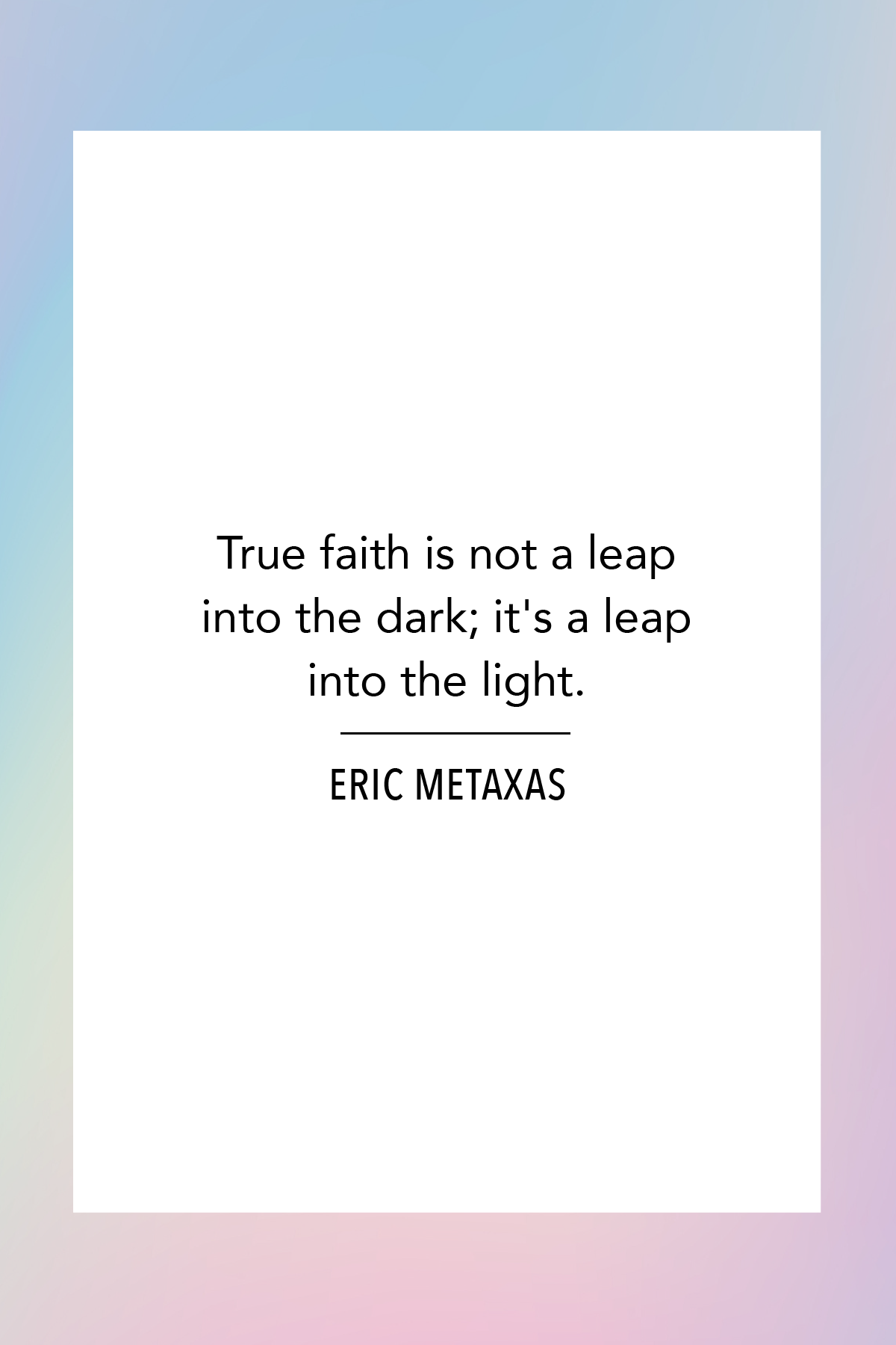 10 Best Faith Quotes - Sayings About Keeping Faith