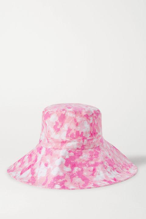 gorro pescador bucket hat tie dye