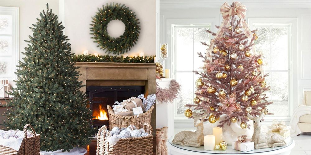 beb00722568 20 Best Artificial Christmas Trees 2018 - Best Fake Christmas Trees