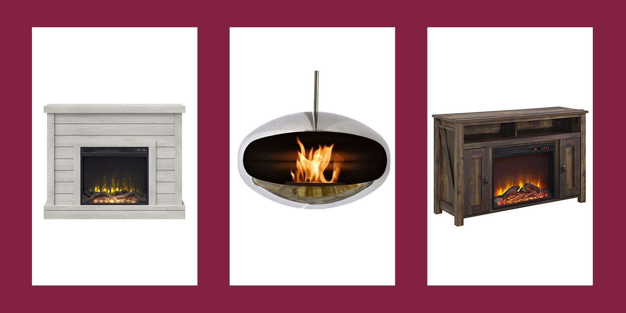 10 Electric Fireplaces That Look (and Feel) So Real