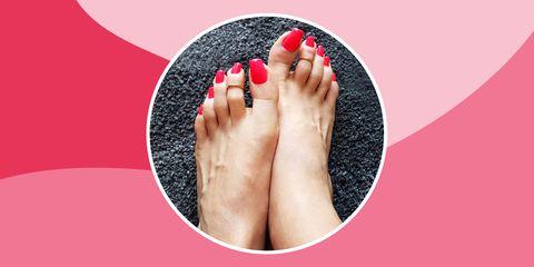 fake long toenails best 2019