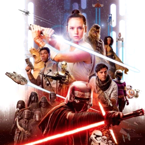 fake star wars episode 9 poster - mark hamill has debunked the viral