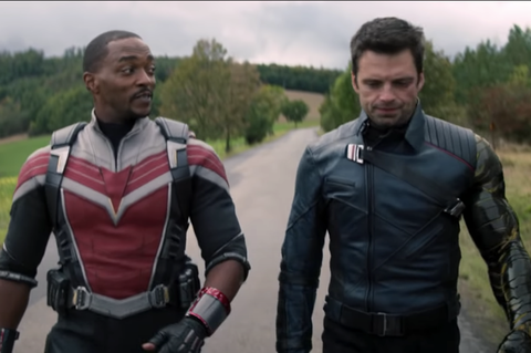 the falcon and winter soldier show
