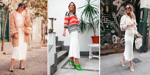 ea989ac1e5 Esta falda midi de Zara ha inspirado a 10 instagramers a un challenge