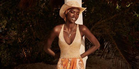 b3d63f5aa775 La falda pareo de H&M para un look de playa o de invitada de boda