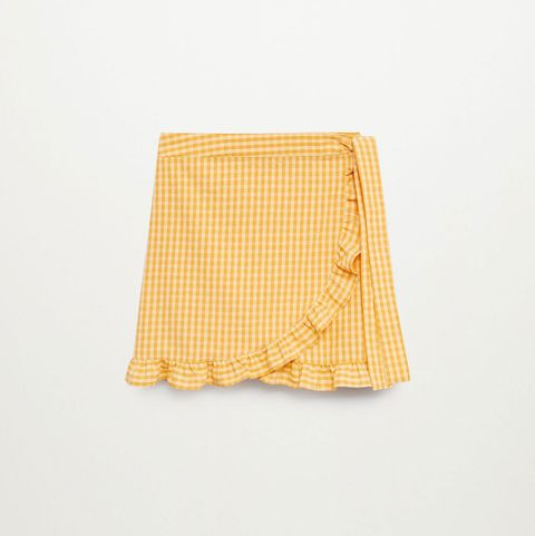 faldas mini pareo