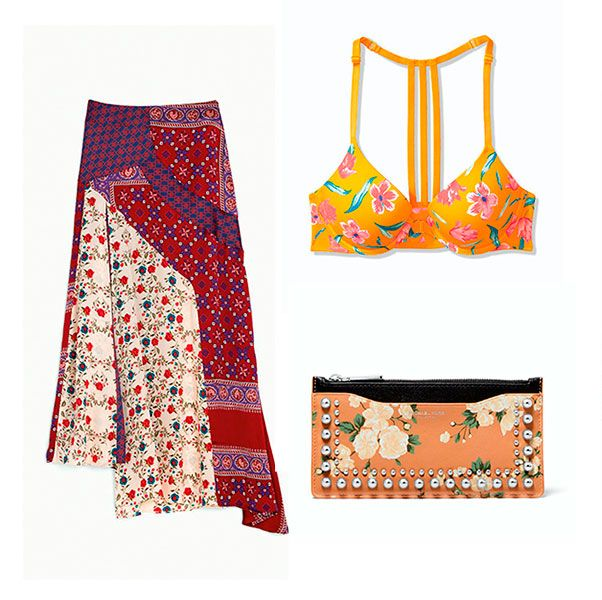 Moda, 19 prendas con estampado floral