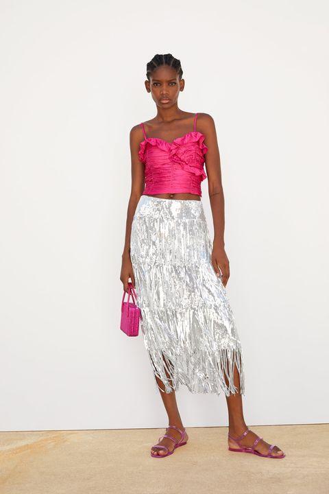 1b432e827 Esta falda y este vestido de Zara son perfectos para tu próxima fiesta