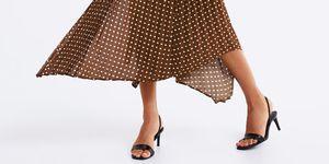 Falda lunares Zara invitada