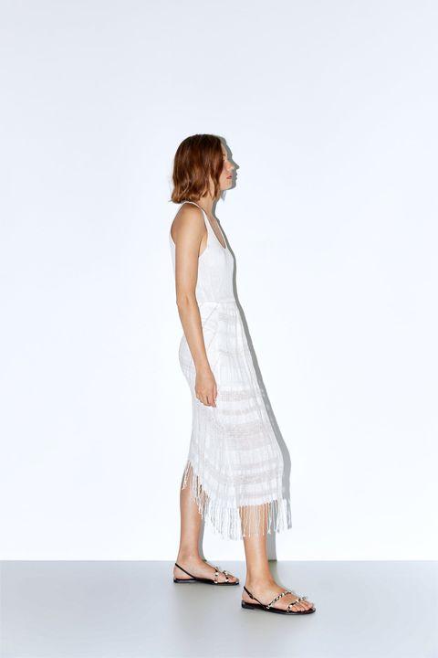 1f74d3a3c La falda pareo de Zara que vas a poder llevar a la playa y a una ...