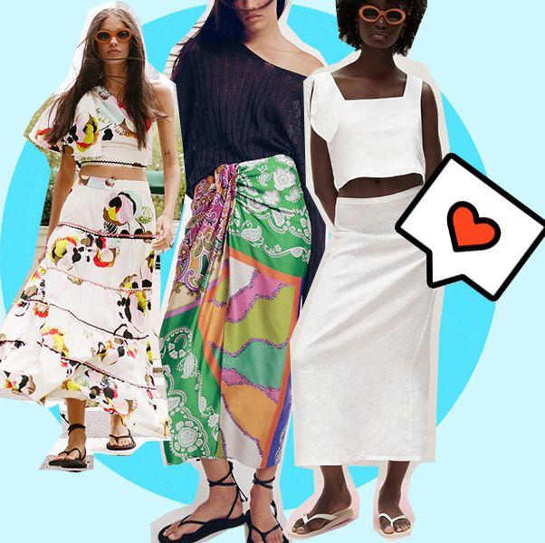 faldas para este verano de zara