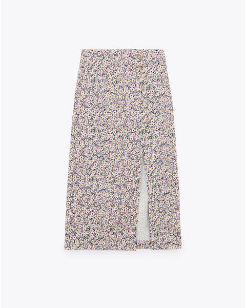 las falda largas más bonitas de zara
