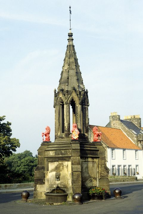 Falkland, Mercat, Market Cross, Scotland
