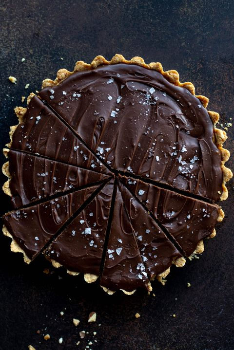 snickers almond butter tart