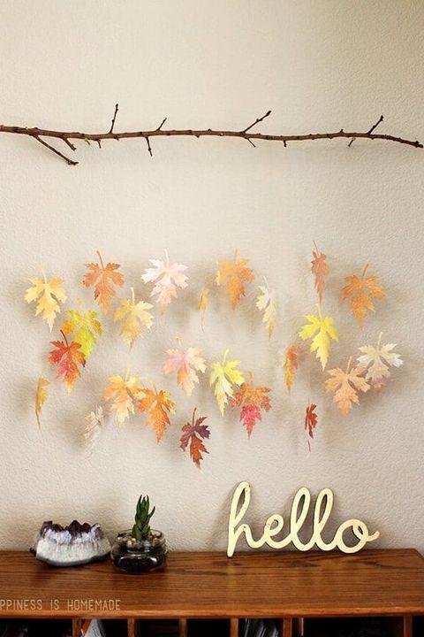 fall foliage mobile