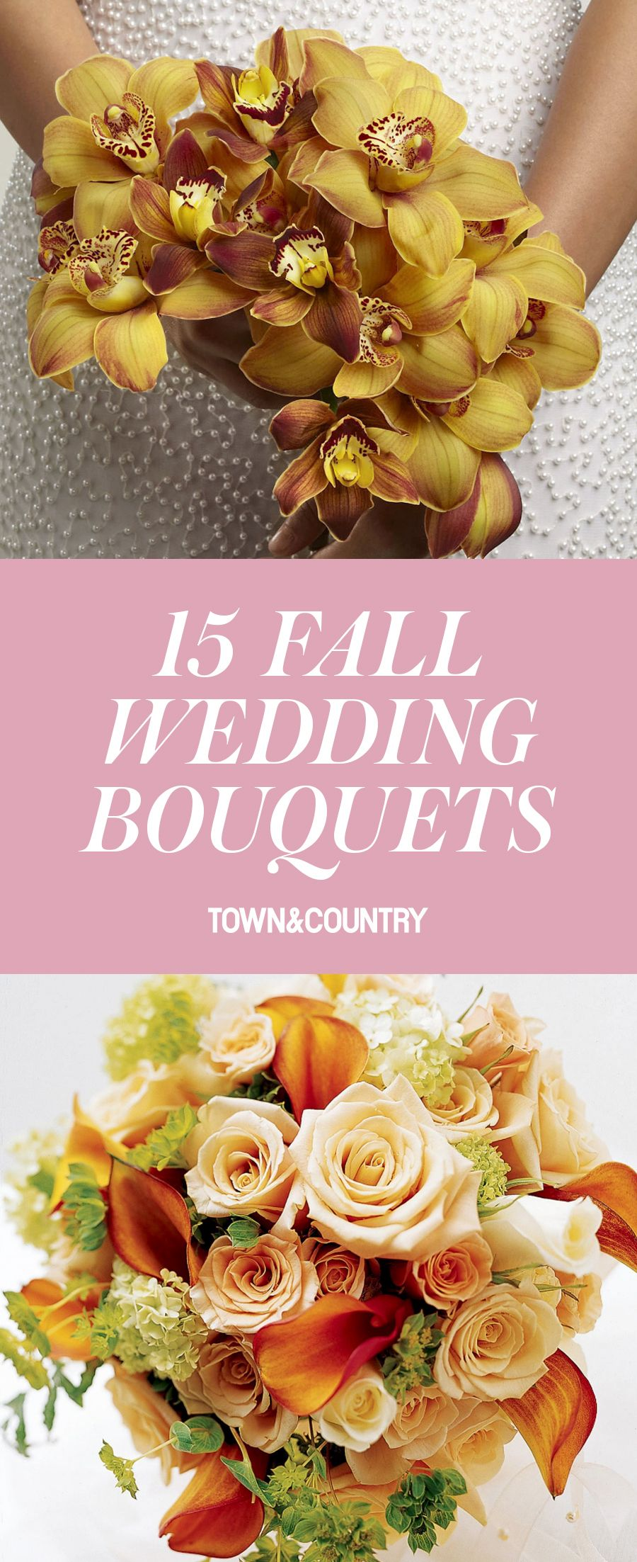 15 amazing fall wedding bouquets best bridal flowers for fall weddings junglespirit Choice Image