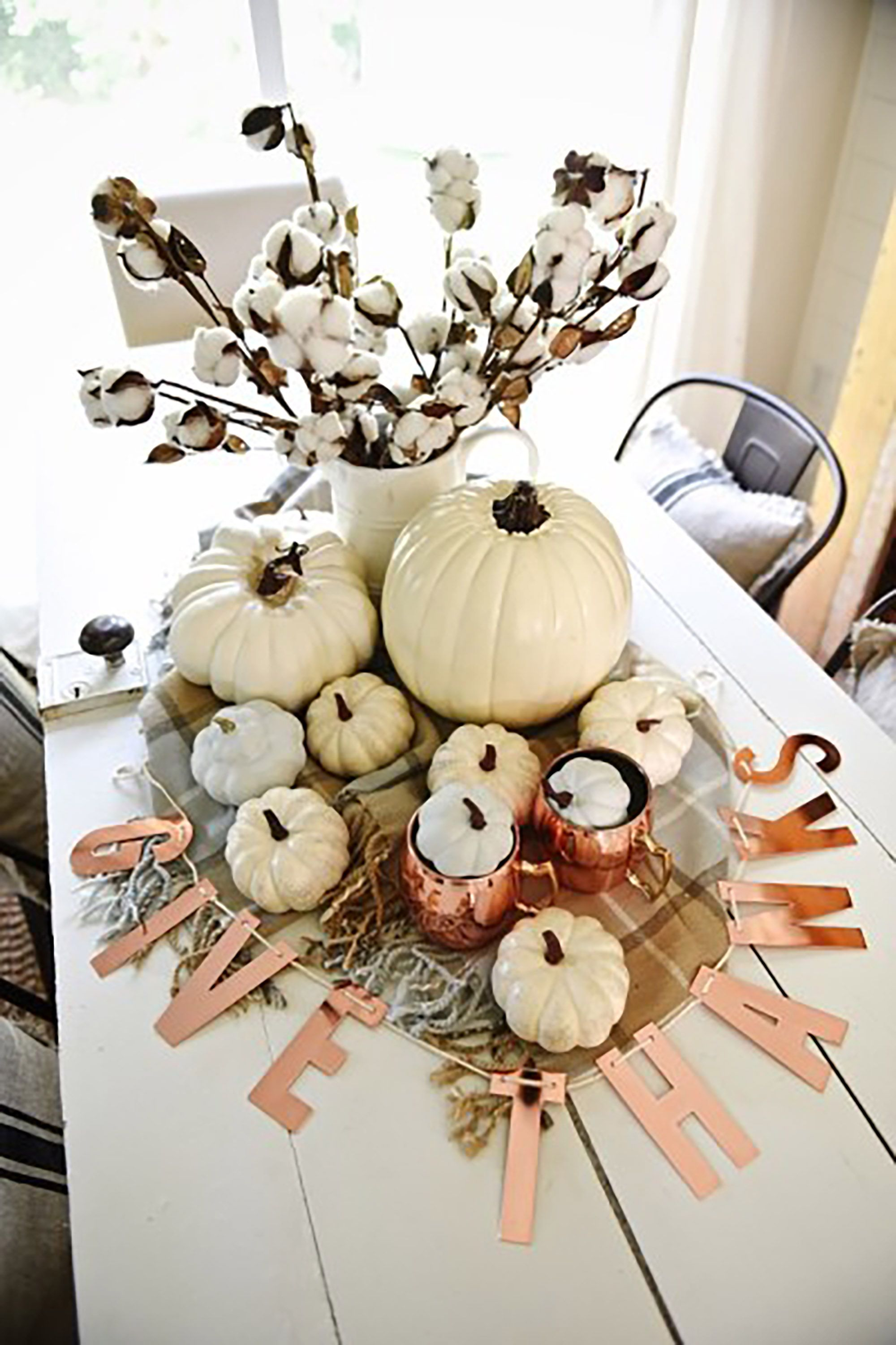 56 Fall And Thanksgiving Centerpieces Diy Ideas For Fall Table