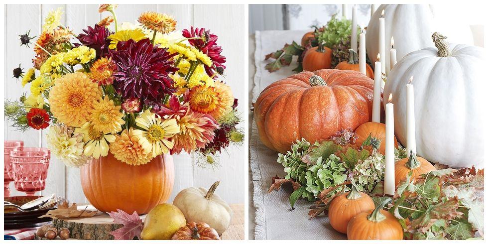 Ideas For Fall Wedding Centerpieces: 40 Fall Table Centerpieces