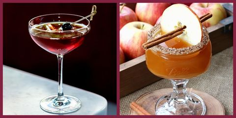 20 Delicious Fall Cocktails Easy Autumn Cocktail Recipes 2019
