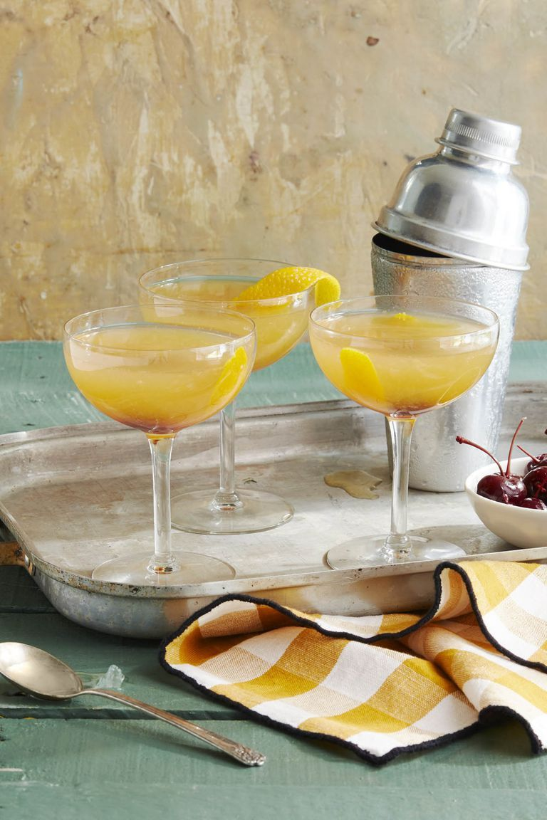 fall cocktail recipes sidecar