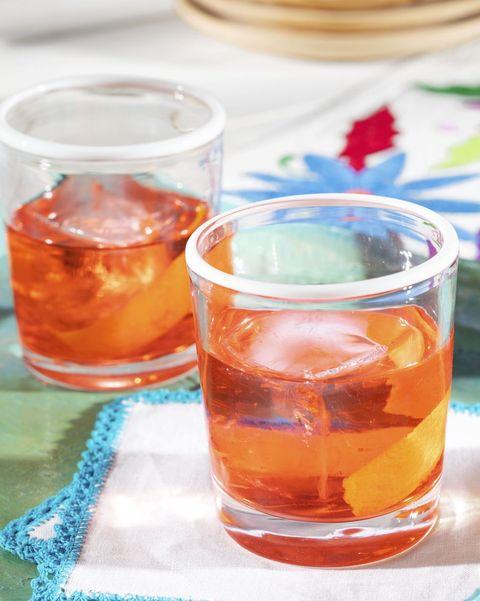 fall cocktails mezcal negroni