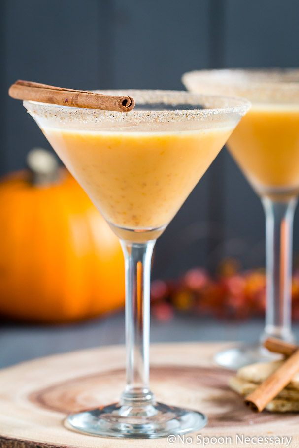 fall cocktails pumpkin