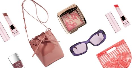 Eyewear, Glasses, Pink, Material property, Fashion accessory, Wallet, Peach, Bag, Vision care, Sunglasses,