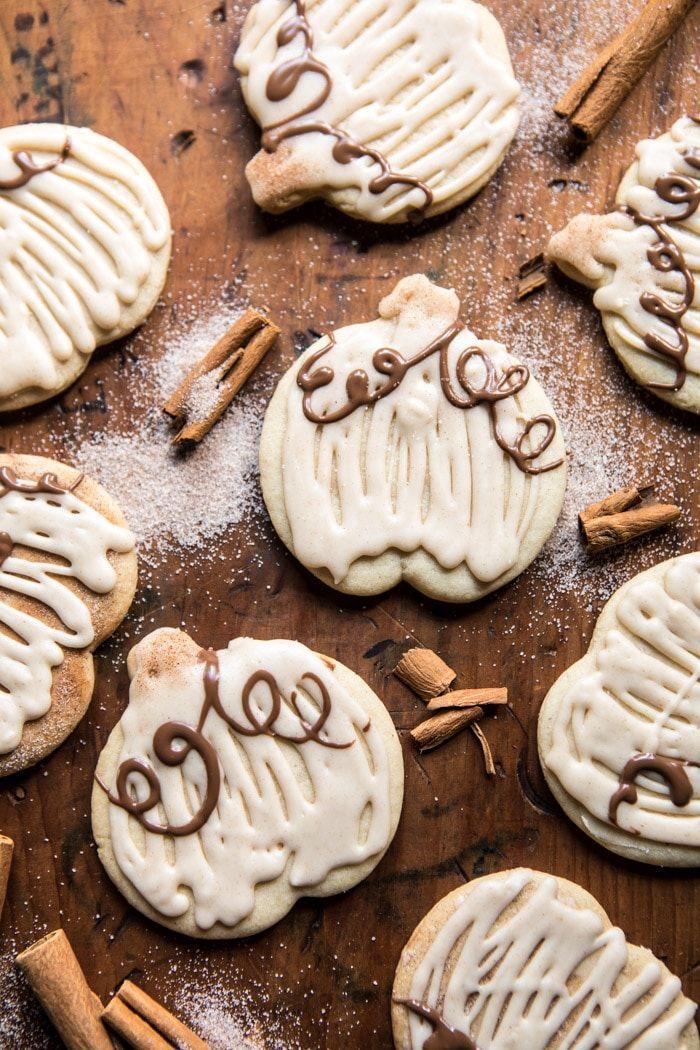 fall cookies cinnamon