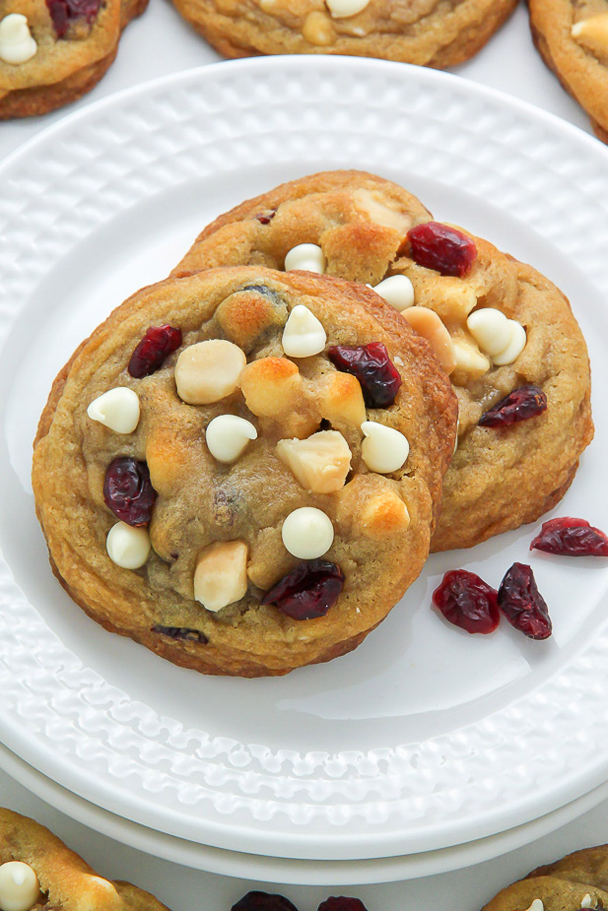 fall cookies cranberry