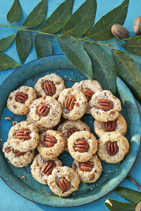 fall cookies pecan shortbread