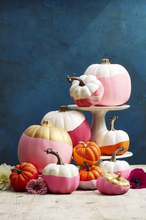 thanksgiving crafts  balloon pumpkins