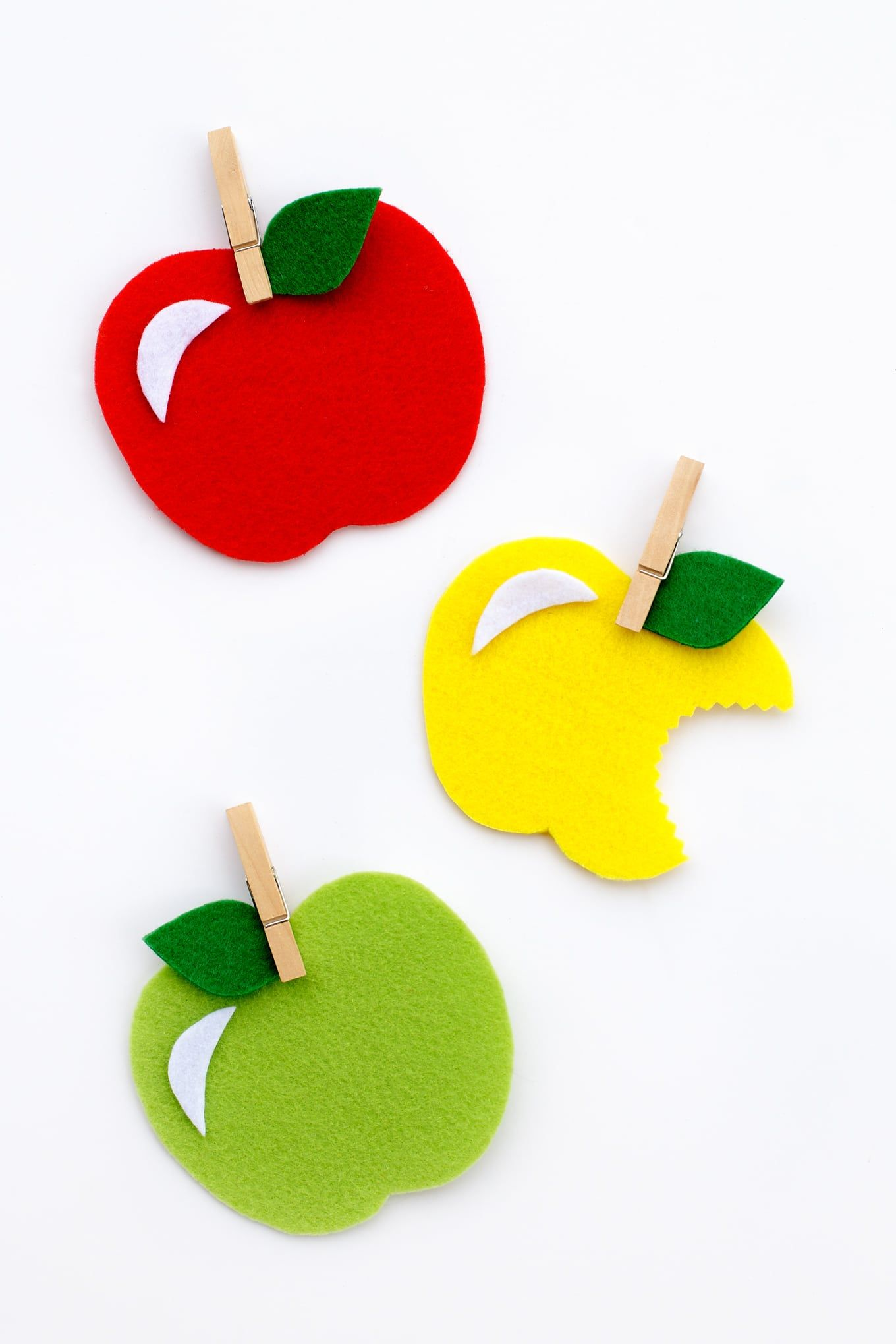 fall crafts for kids apple