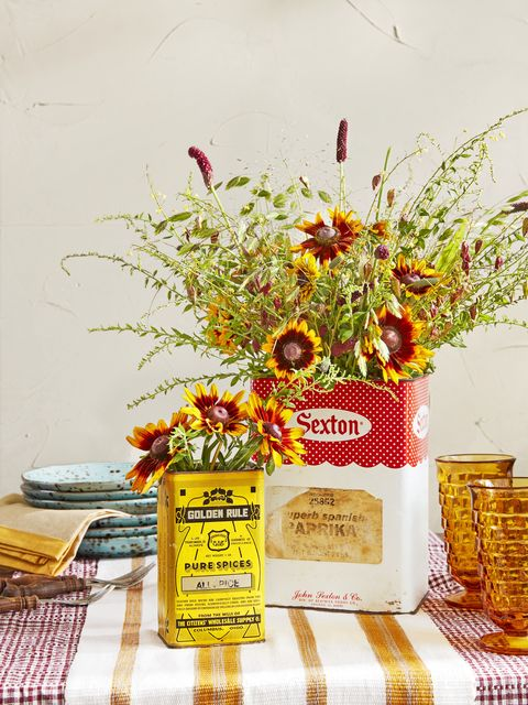 fall decorating ideas spice box vases