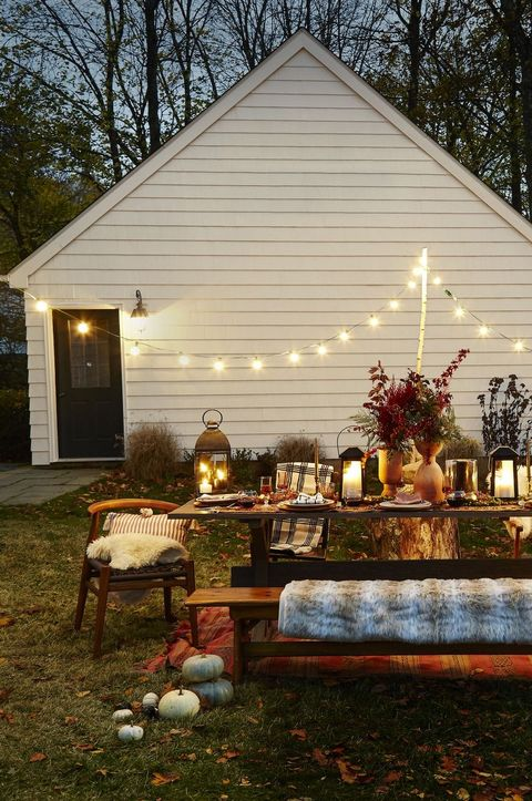 cozy table setting